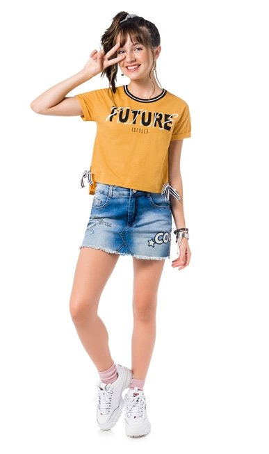 Amora Blusa Infantil Feminina 51.358