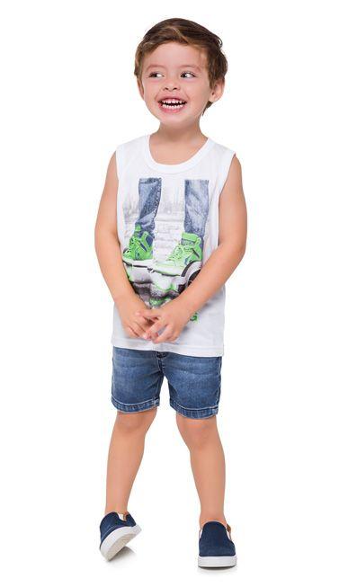 Kyly Camiseta Regata Infantil Masculina 110287