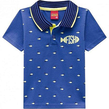 Kyly Camiseta Manga Curta Infantil Masculina 109.722
