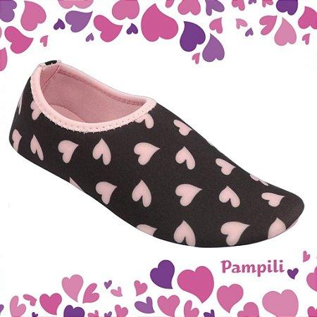 Pampili Sapatilha Infantil Feminina Bem Me Quer 648.002 Cor Pink