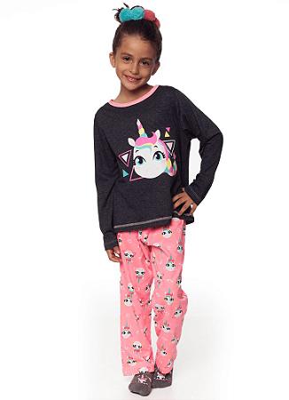 Puket Pijama Manga Longa Kids Eco Unicornio 030401917