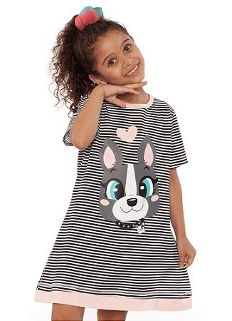 Puket Camisola Kids Manga Curta Eco Bulldog 030402041