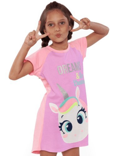 Puket Camisola Kids Visco Unicornio 030402028