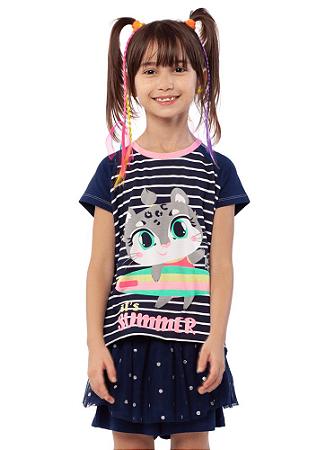 Puket Pijama Short Doll Fantasia Oncinha 030402074