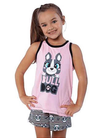 Puket Pijama Short Doll Nadador Teeen Eco Bulldog 030501571