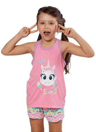 Puket Pijama Short Doll Nadador Eco Unicornio 030402032