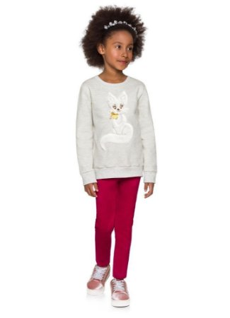 Brandili Conjunto Legging Longa Infantil Feminino 53664