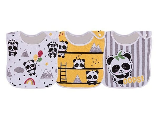Colibri Kit Babador Com 3 48014 Cor Panda