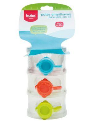 Buba Baby Kit Potes 9373 Cor Colorido