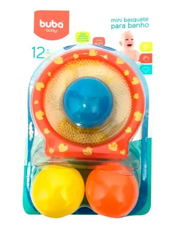 Buba Baby Brinquedo 6053 Cor Laranja
