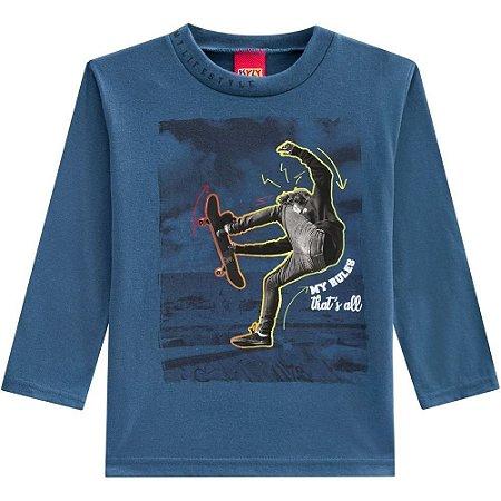Kyly Camiseta Infantil Masculina Manga Longa 207.191