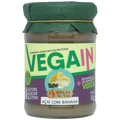 Açaí com Banana Vegain 170g