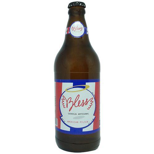 Cerveja Artesanal Bless American Pilsen 600ml