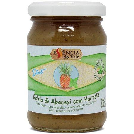Geleia de Abacaxi com Hortelã Diet Sem Adição de Açúcar 200g