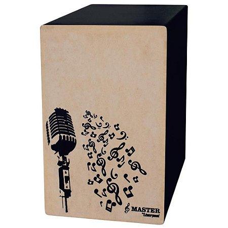 Cajon Microfonado Liverpool Master