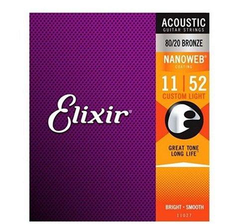 ENCORD ELIXIR VIOLAO 011 NANOWEB 99509