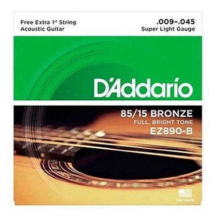 ENCORD DADDARIO VIOLAO ACO 0.09 EZ-890   7320