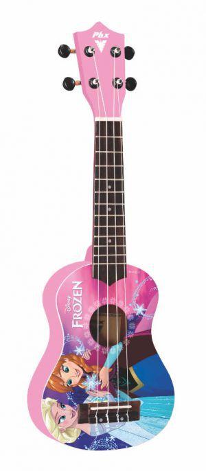 Ukulele PHX Frozen pink UKP-F2