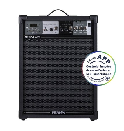 Caixa Amplificada Frahm MF600 APP
