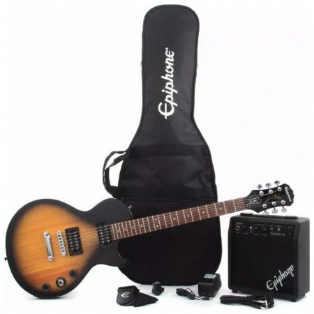 Guitarra Epiphone Kit Player Pack Les Paul