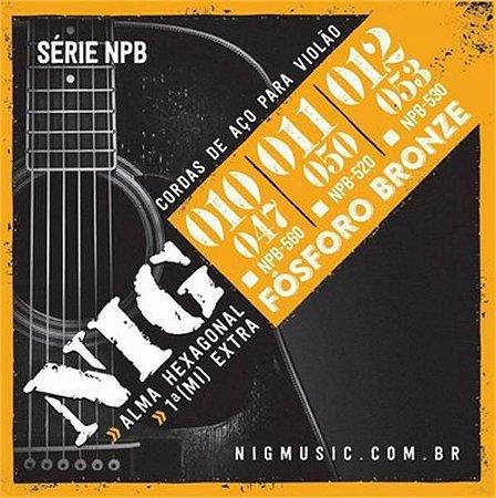 ENCORD VIOLAO ACO NIG NPB-560 0.10 FOSFORO BRONZE