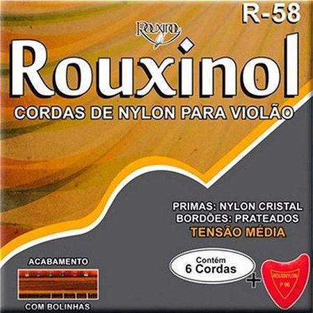 ENCORD VIOLAO ROUXINOL NY R-56 S/ BOLINHA