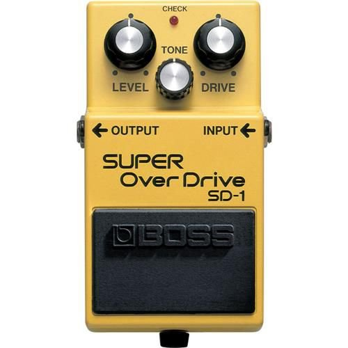 PEDAL BOSS SUPER OVERDRIVE SD-1W