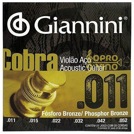 ENCORD GIANNINI VIOLAO COBRA 0.11 FOSFORO B GEEFLKF