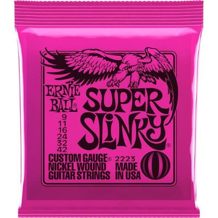 ENCORD ERNIE BALL GUITARRA 09