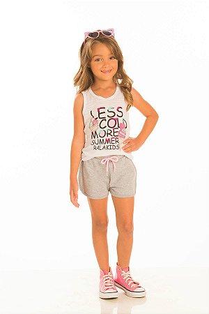 Conjunto Feminino Regata e Shorts-30219