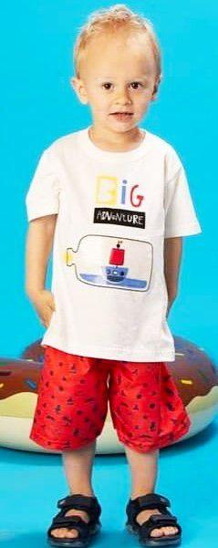 Conjunto Masculino Camiseta e shorts tactel-7652