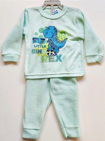 Pijama Soft Masculino-Produto somente com opção de cor (verde ou azul ou amarelo),as estampas poderão ser diferentes da foto.-VS0001-