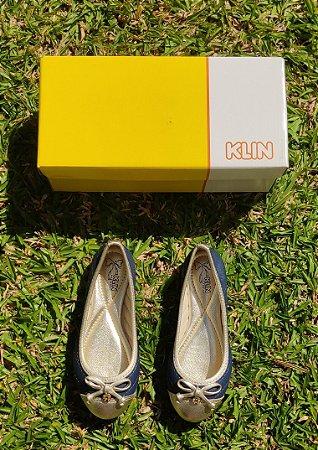 Sapatilha Princesa Klin com Laço-KL0020