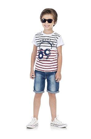 Camiseta Masculina Manga Curta-4040