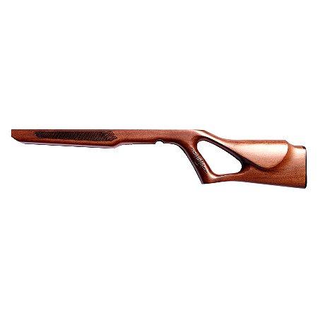 Coronha Vasada De Madeira Para Rifle Cbc Modelo 8117 e 8122