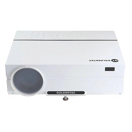 Projetor Goldentec GT3500 Full HD 3500 Lumens com 2 HDMI, 2 USB, AV e VGA