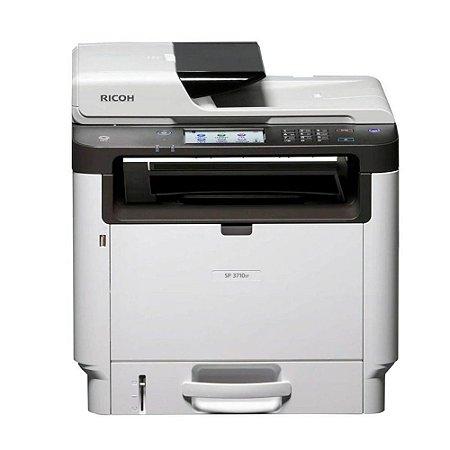 Impressora multifuncional Ricoh SP 3710SF, Laser, Mono, 110V