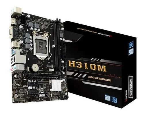 Placa Mãe Biostar LGA 1151 Chipset Intel H310mhp DDR4