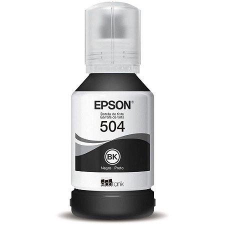 Refil de Tinta Original Epson T504