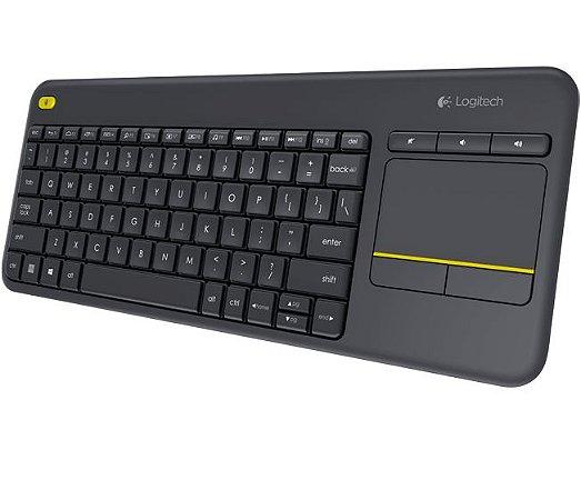 Teclado Wireless Touch K400 Plus
