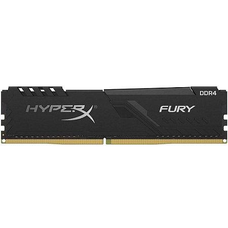 Memória HyperX Fury, 8GB, 2666MHz, DDR4, CL16, Preto