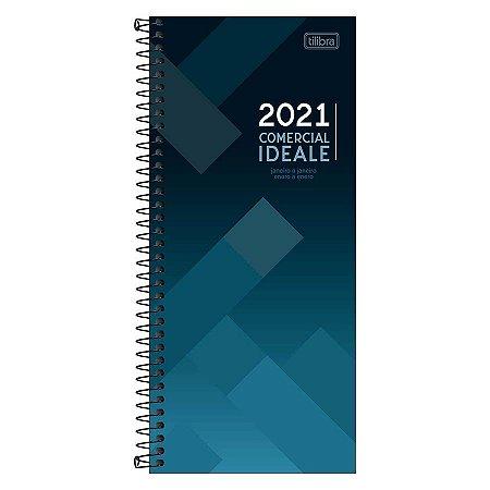 Agenda 2021 Comercial Ideale Espiral M8 Tilibra