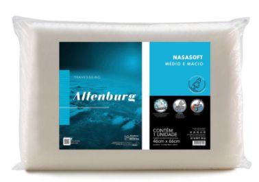 Travesseiro Visco Nasasoft Marfim - 46cm x 66cm - Altenburg