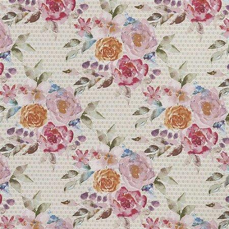 Tecido para Decoração Coleção Essence - Floralis - Karsten