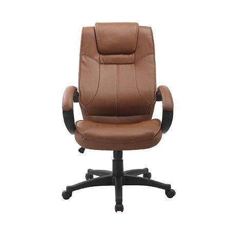 Cadeira Office Nova Córdoba Marrom - Rivatti