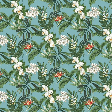 Karsten Decor Acquablock Floralis Turquesa