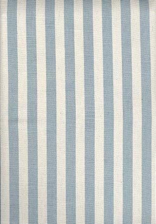 Linho Florata - Cor Listrado Azul Claro