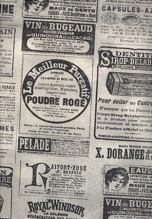 Linho Florata - Cor Jornal Cru