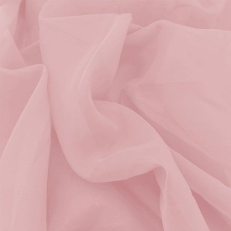 Voil Liso Cor 15 Rosa Escuro