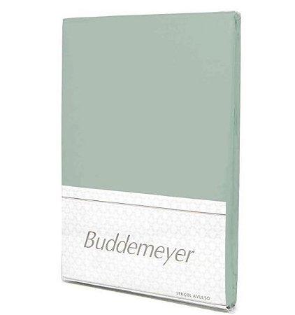 Lençol C/ Elástico Verde - Casal - Buddemeyer